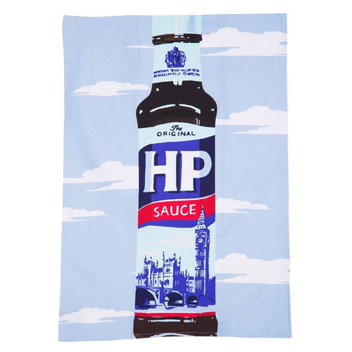 HP Sauce Branded Tea Towel