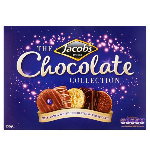 Jacobs Chocolate Collection Carton - 12.3oz (350g)