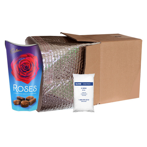 Medium Insulated Shipping Liner With Cold Gel Pack