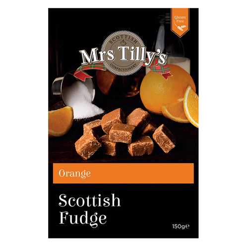 Mrs. Tilly's Orange Fudge - 5.29oz (150g)