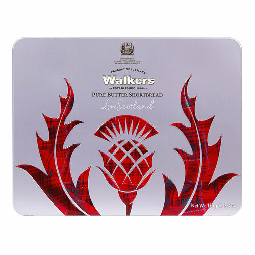 Walkers Shortbread Tin - Scottish Icon Thistle - 5.29oz