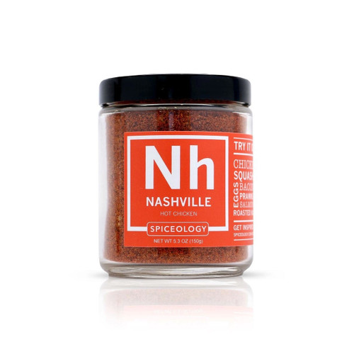Spiceology Nashville Hot Chicken Rub - Glass Jar
