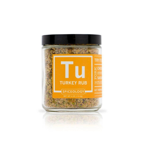 Spiceology Turkey Rub - Glass Jar