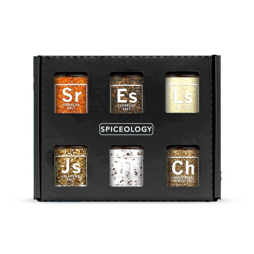 Spiceology Luxe Infused Salt 6 Pack