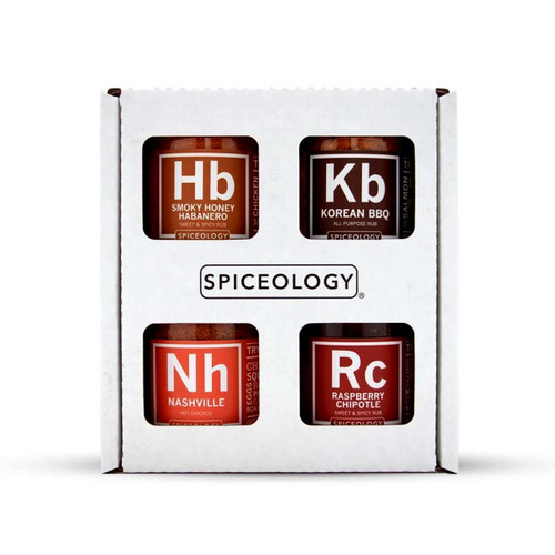 Spiceology Sweet and Spicy Variety 4 Pack