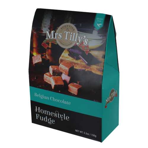 Mrs. Tilly's Belgian Chocolate Fudge - 5.29oz (150g)