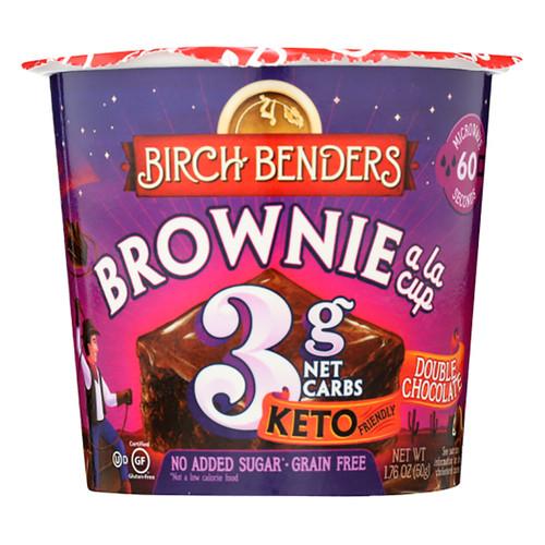 Birch Benders Baking Cup - Double Chocolate Brownie - 1.76oz (49g)