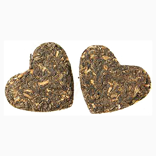 Antony & Cleopatra Tea Hearts - Pressed Loose Leaf Black Tea