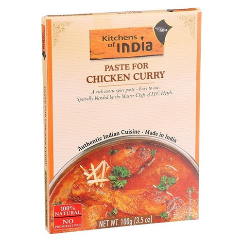 Kitchens of India Paste for Chicken Curry - 3.5oz (100g)