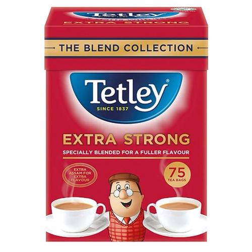 Extra Strong Tetley Tea Bags - 75 count