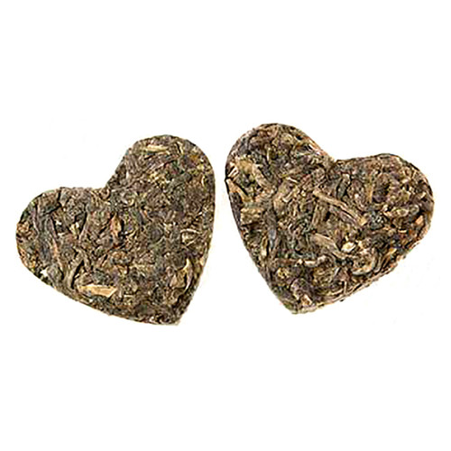 Romeo & Juliet Tea Hearts - Pressed Loose Leaf Green Tea