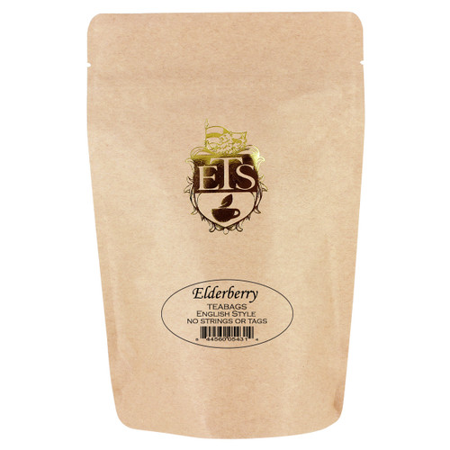 Elderberry Flavored Black Tea Bags