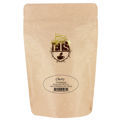 Cherry Flavored Black Tea Bags