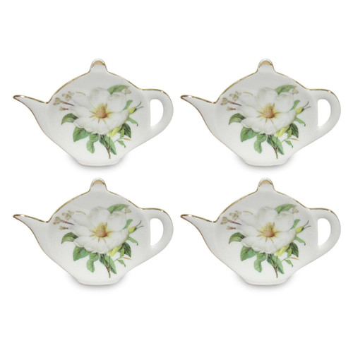 Magnolia Tea Bag Holder - Set of 4