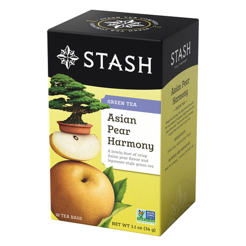 Stash Asian Pear Harmony Green Tea - 18 count
