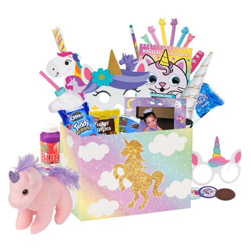 Unicorn Birthday Basket