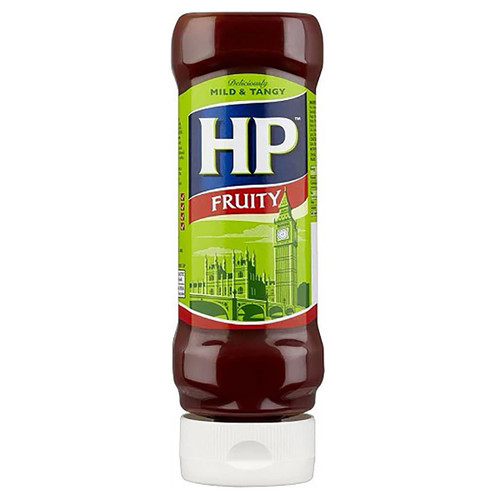 HP Fruity Sauce Squeezy - 16.57oz (470g)