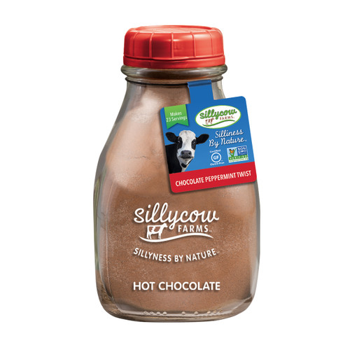 Sillycow Hot Cocoa - Peppermint Twist - 16.9 oz