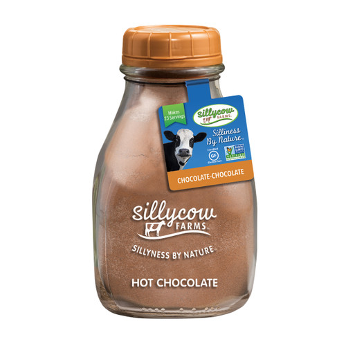 Sillycow Hot Cocoa - Chocolate- Chocolate  - 16.9 oz