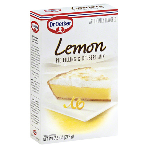 Dr. Oetker Lemon Pie Filling & Dessert Mix - 7.5oz (212g)