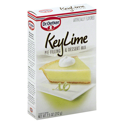 Dr. Oetker Key Lime Pie Filling & Dessert Mix - 7.5oz (212g)