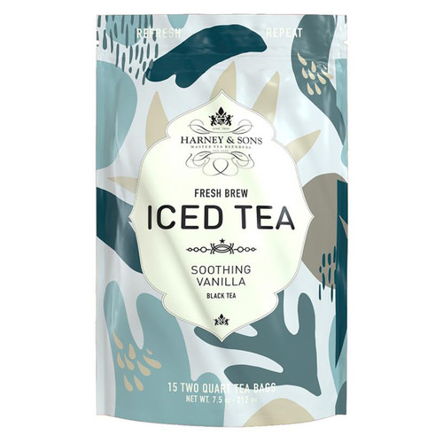 Harney and Sons Iced Tea - Soothing Vanilla - 15 Count