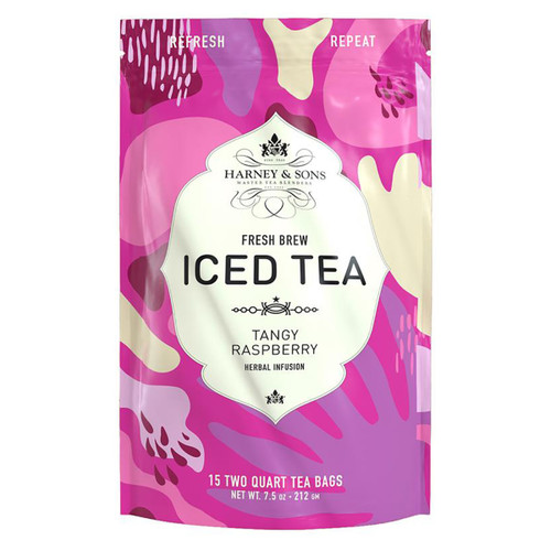 Harney and Sons Iced Tea - Tangy Raspberry - 15 Count