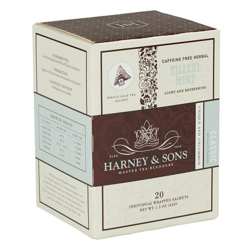 Harney and Sons Tea - Tilleul Mint - 20 count
