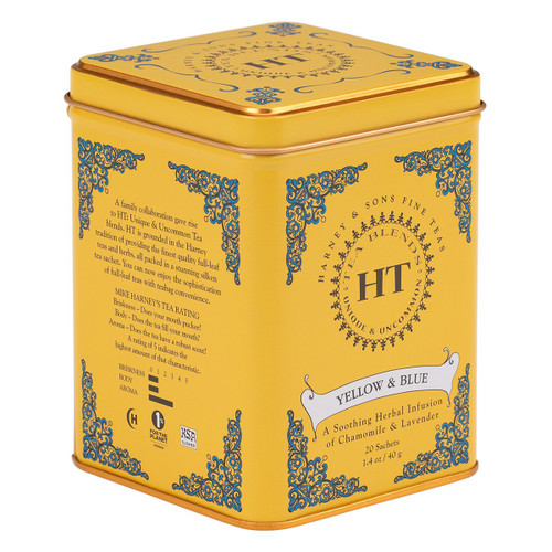 Harney and Sons Tea - Yellow & Blue - 20 count