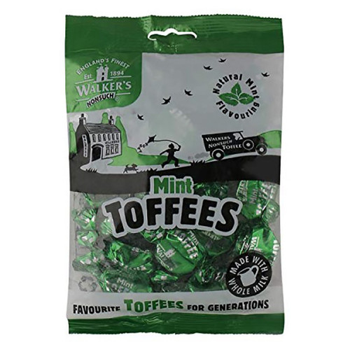 Walkers Nonsuch Mint Toffees - 5.29oz (150g)