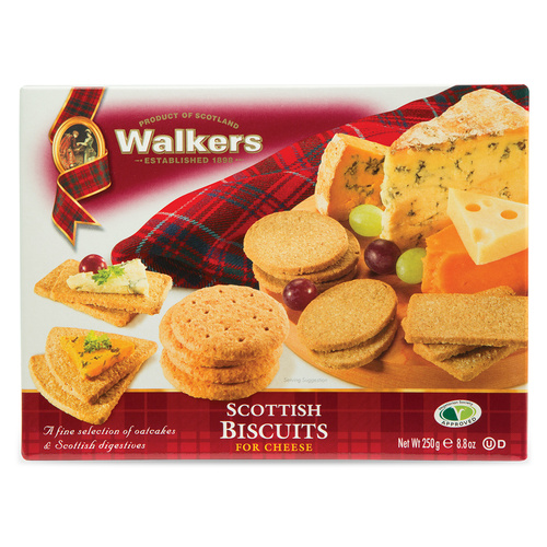 Walkers Scottish Biscuits for Cheese  - 8.8oz (250g)
