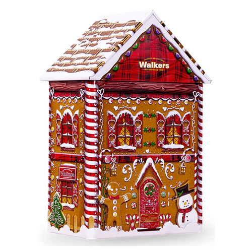 Walkers Gingerbread House Tin - 7oz (198g)
