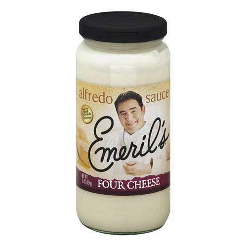Emeril's Alfredo Sauce - Four Cheese - 16oz (453g)