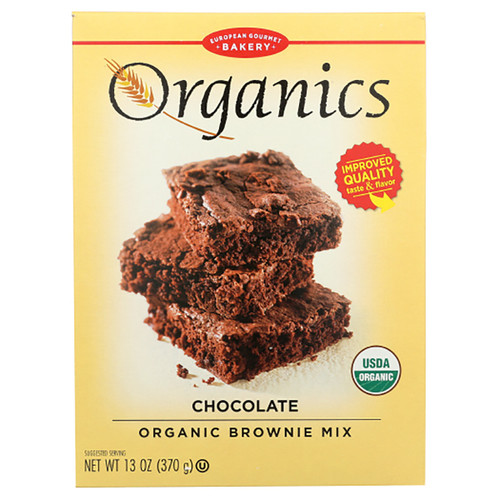 European Gourmet Bakery Organic Brownie Mix - 13oz