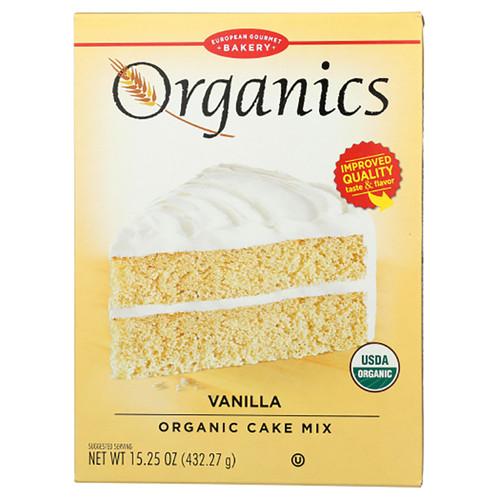 European Gourmet Bakery Organic Vanilla Cake Mix - 15.25oz