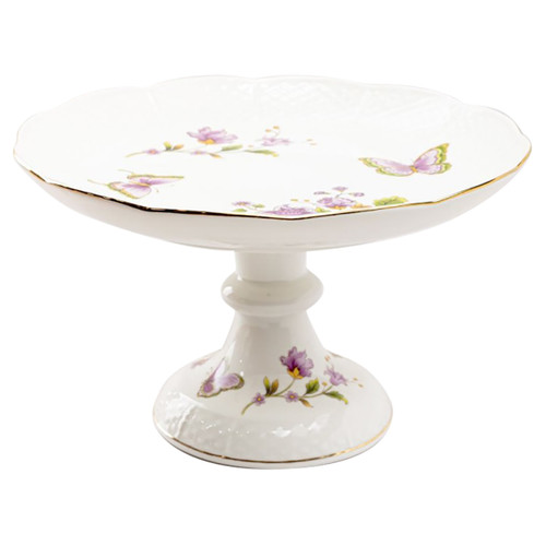 Purple Butterfly Cake Stand