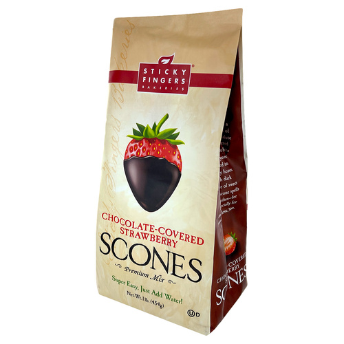Scone Mix - Chocolate Covered Strawberry - 16oz (454g)