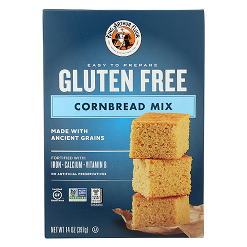 King Arthur's  Gluten Free Cornbread Mix - 14oz (397g)