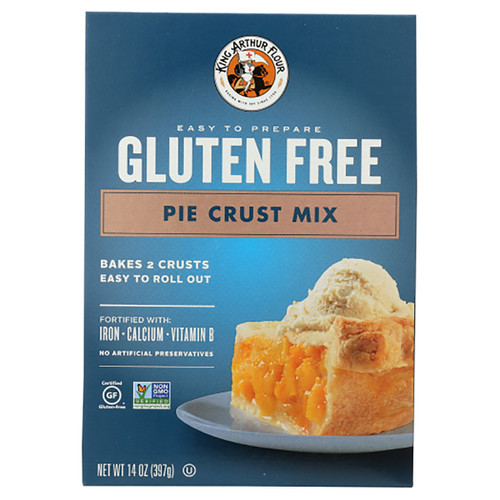 King Arthur's  Gluten Free Pie Crust Mix - 14oz (397g)