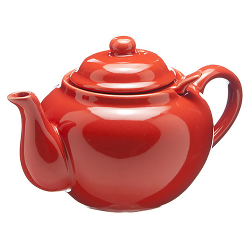Amsterdam 2 Cup Infuser Teapot - Red