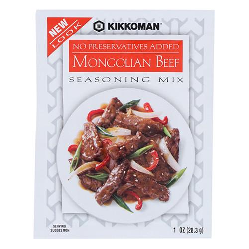Kikkoman Mongolian Beef Seasoning Mix  - 1.00oz (28g)