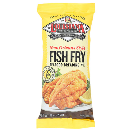 Louisiana New Orleans Style Lemon Fish Fry - 10 Oz (283g)