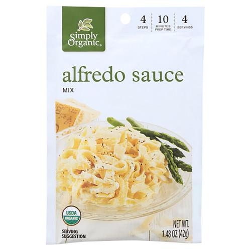 Simply Organic Alfredo Sauce Mix- 1.48oz (42g)