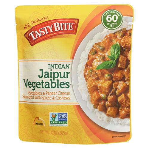 Tasty Bite Indian Jaipur Vegetables Entree - 10oz (285g)