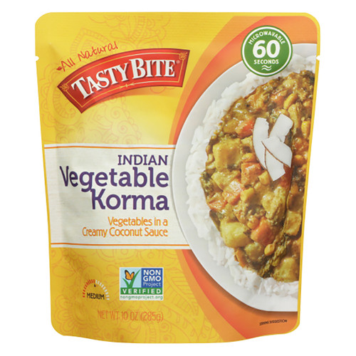 Tasty Bite Indian Vegetable Korma Entree - 10oz (285g)