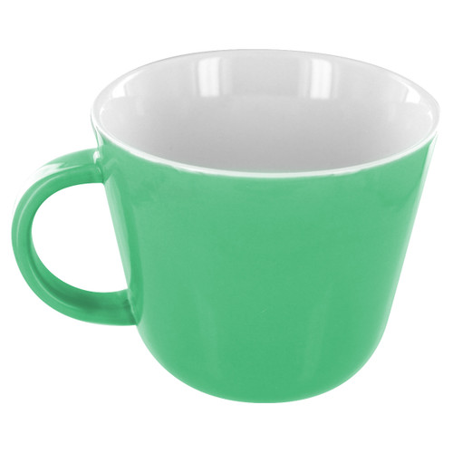 English Tea Store Porcelain Mug-Green Gloss Finish