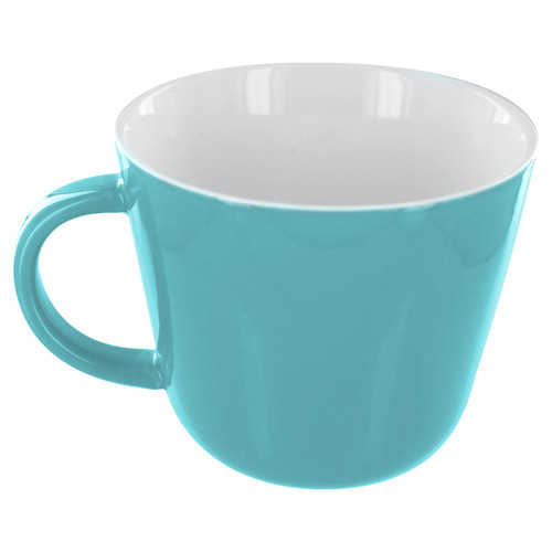 English Tea Store Porcelain Mug- Teal Gloss Finish