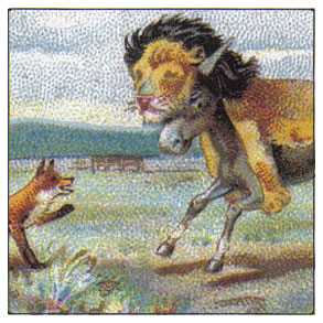 Typhoo Tea Cards - ÆSOP'S FABLES