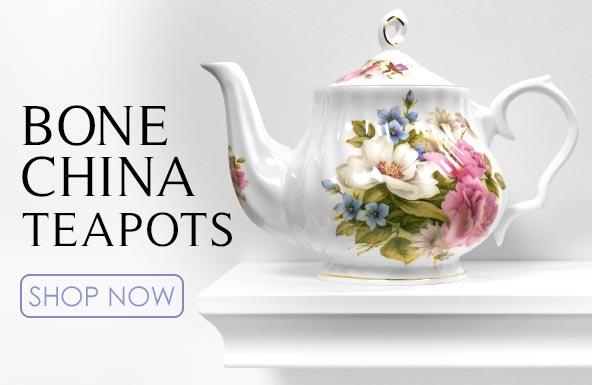 Fine Bone China Tea Pots