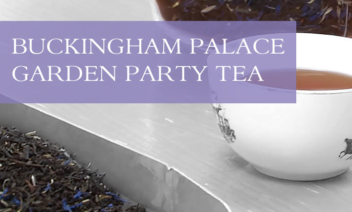 Buckingham Palace Garden Party Banner
